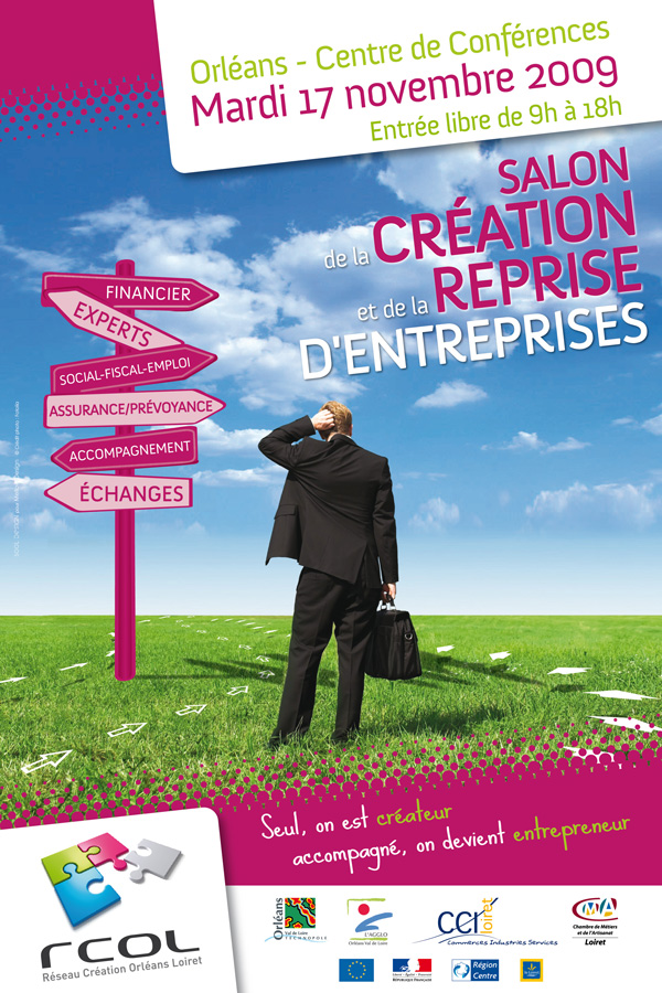 Cr ation reprise entreprise sool lab for Salon creation entreprise