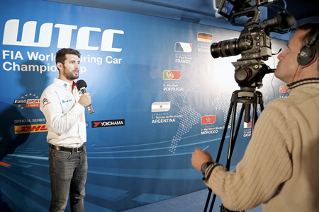 Championship Media Launch day wtcc season media launch communication sport lyon