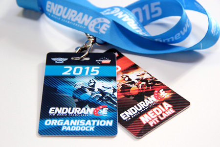 badges FIM Endurance World Championship sport communication communication sport lyon