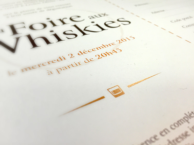 Leclerc foire whisky whiskies invitation communication orléans